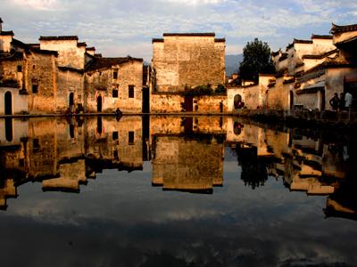 世界文化遗产、中国神奇的牛形水系古村落——水口发电公司郑祖植